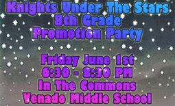 Promotion party flyer