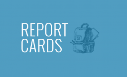 report card sign