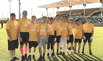 Venado Flag Football team