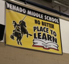 Venado Middle School Sign